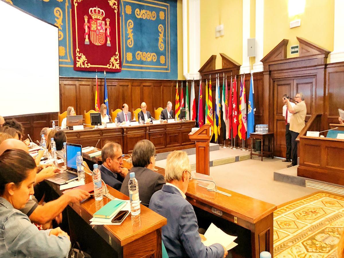 Pleno del Consejo Escolar del Estado. Octubre 2018