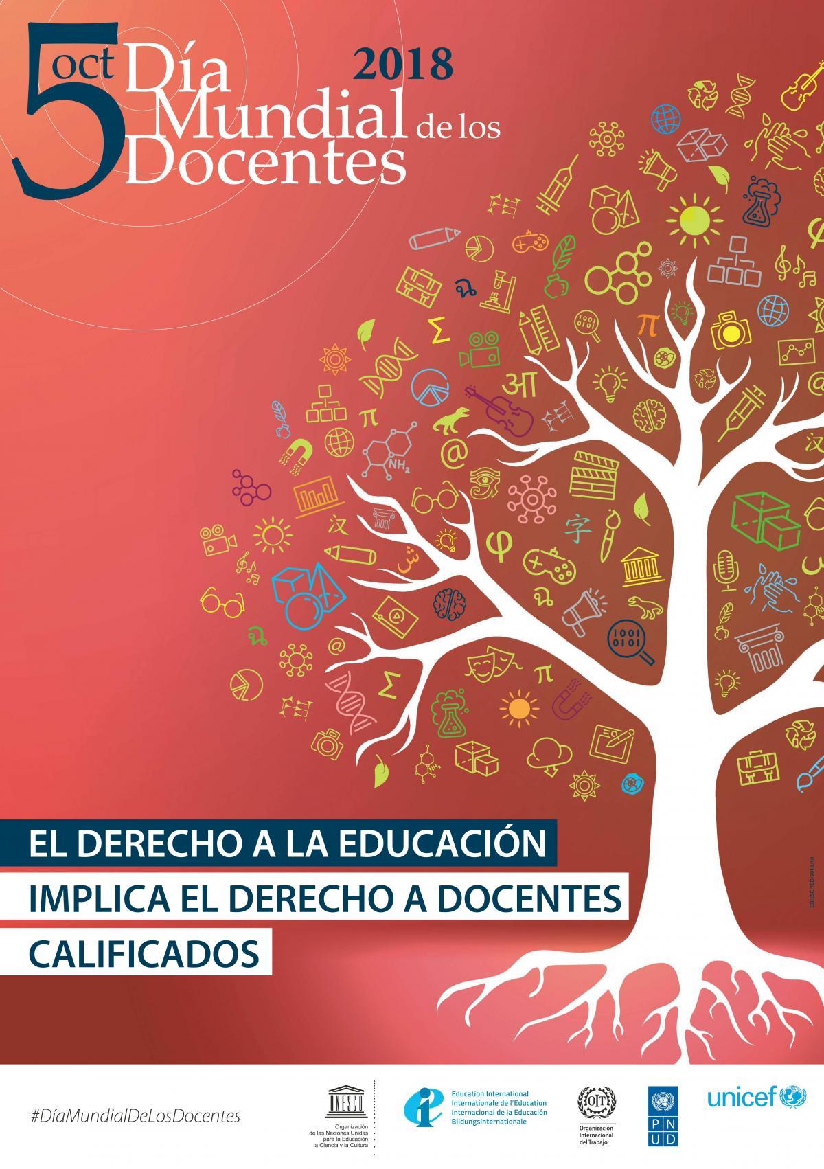 Día Mundial de los y las docentes