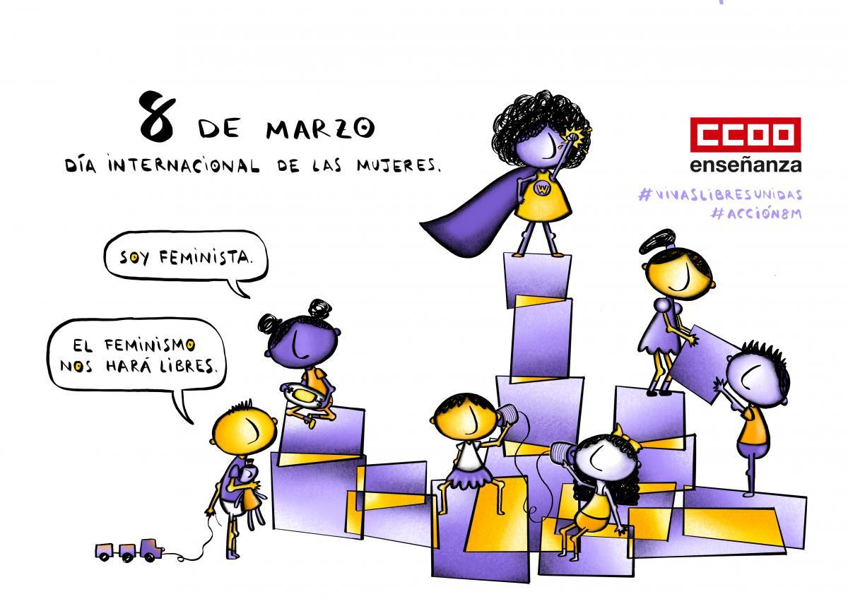 #VivasLibresUnidas #Acción8M