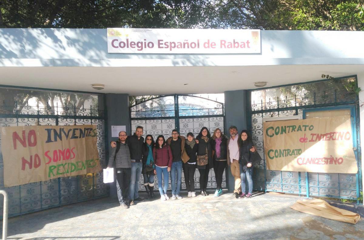 Profesorado del Colegio Español de Rabat.