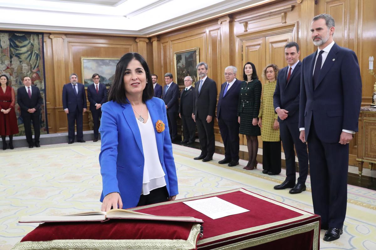 El Área Pública de CCOO ha remitido una carta a la nueva ministra de Política Territorial y Función Pública recordándole los compromisos asumidos. (Créditos: Casa Real)
