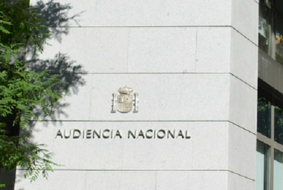 Audiencia Nacional.