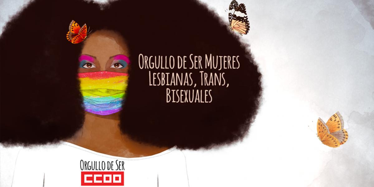 Orgullo de Ser Mujeres Lesbianas, Trans, Bisexuales.