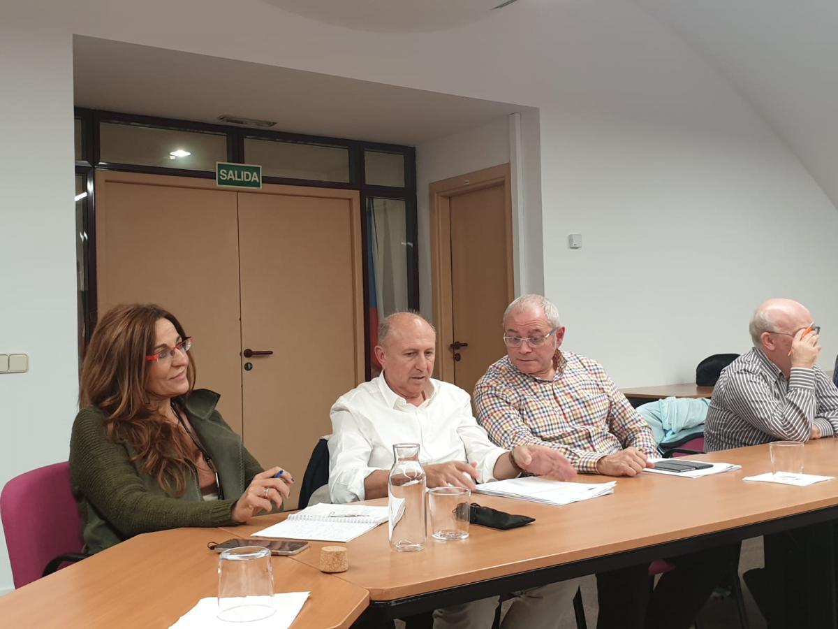 Representantes de FECCOO en la reunión de la Comisión Europea con los agentes sociales.