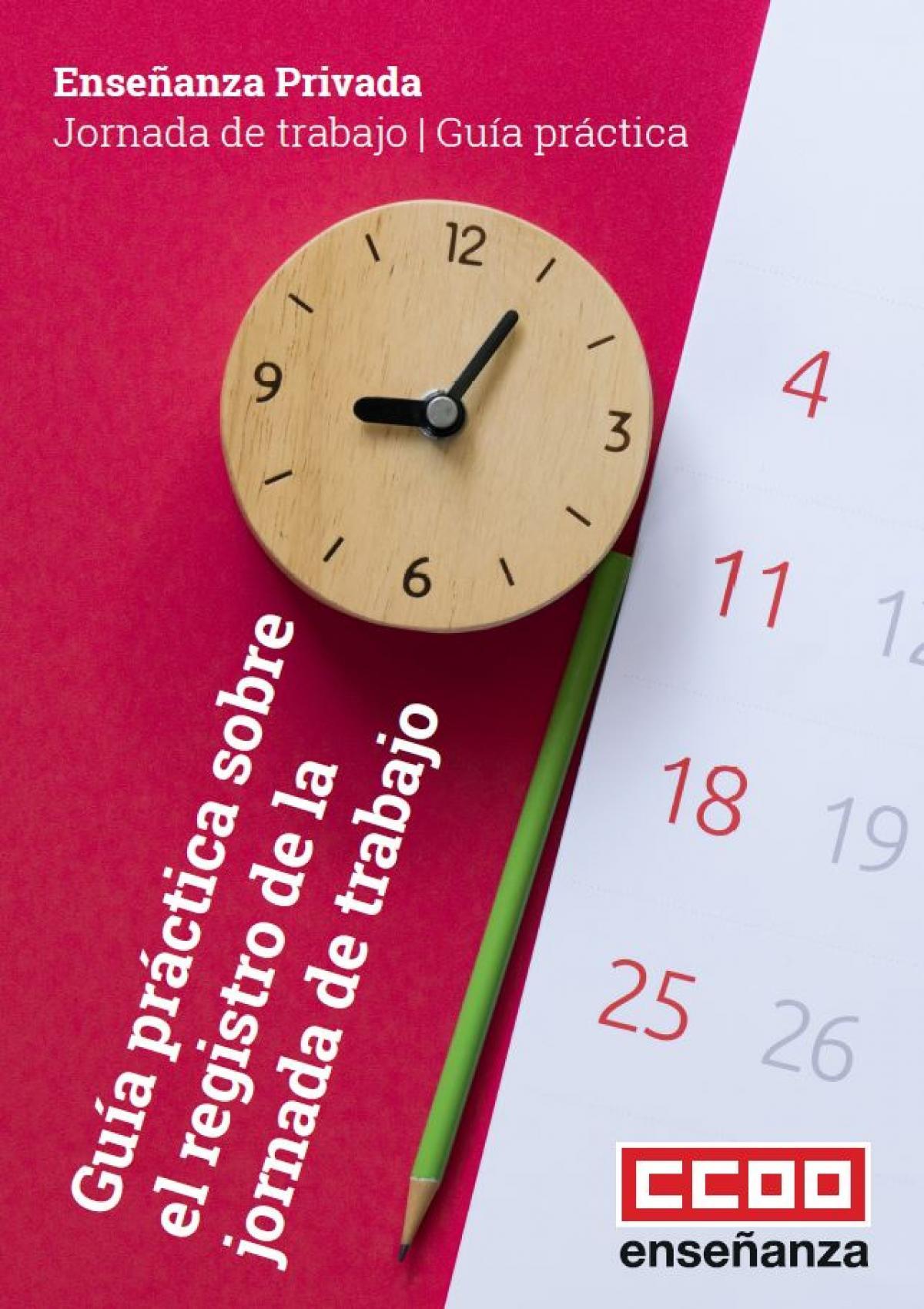 Guía práctica sobre el registro de la jornada de trabajo