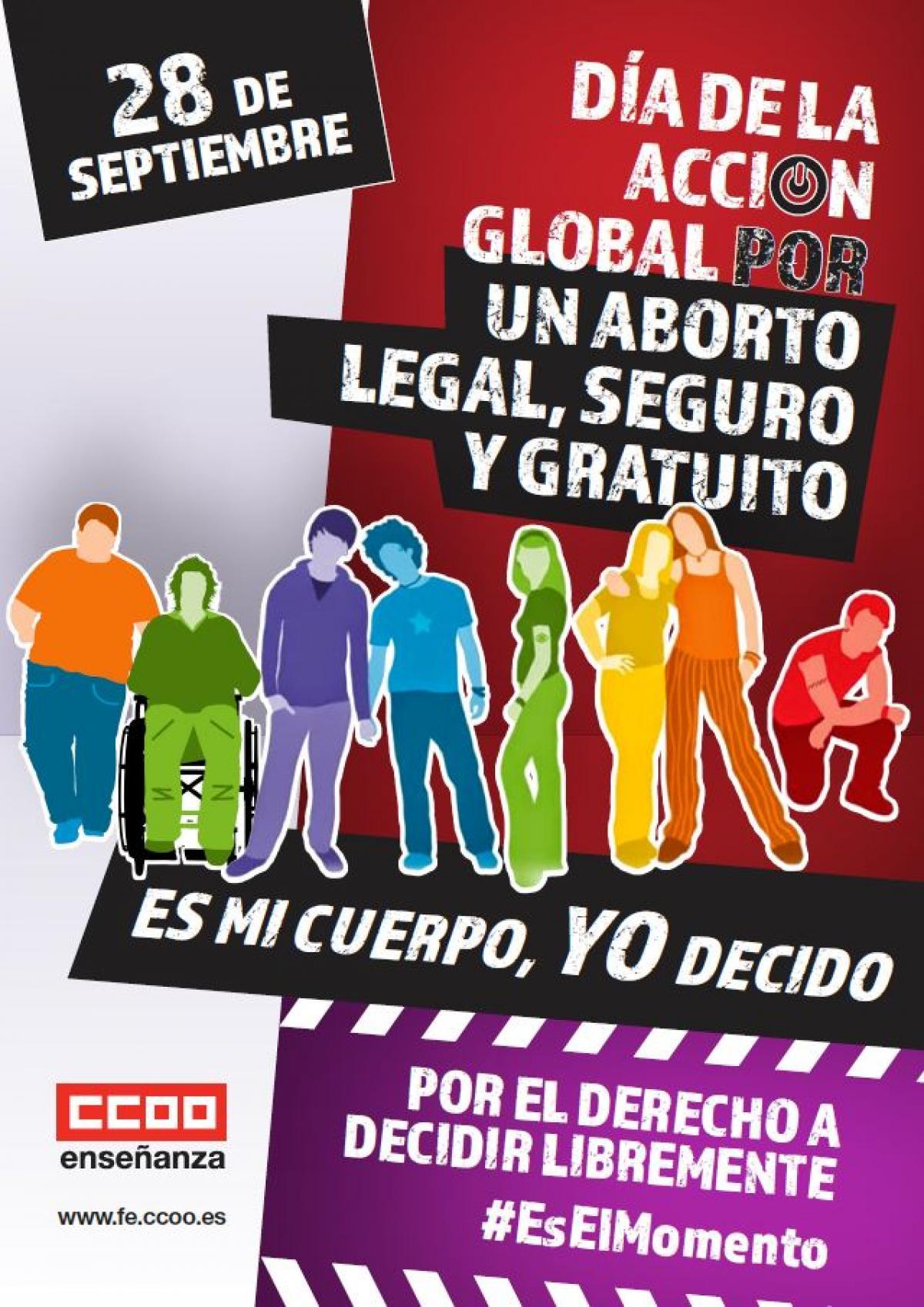 28 de septiembre: Día Mundial por el Acceso al Aborto Legal y Seguro