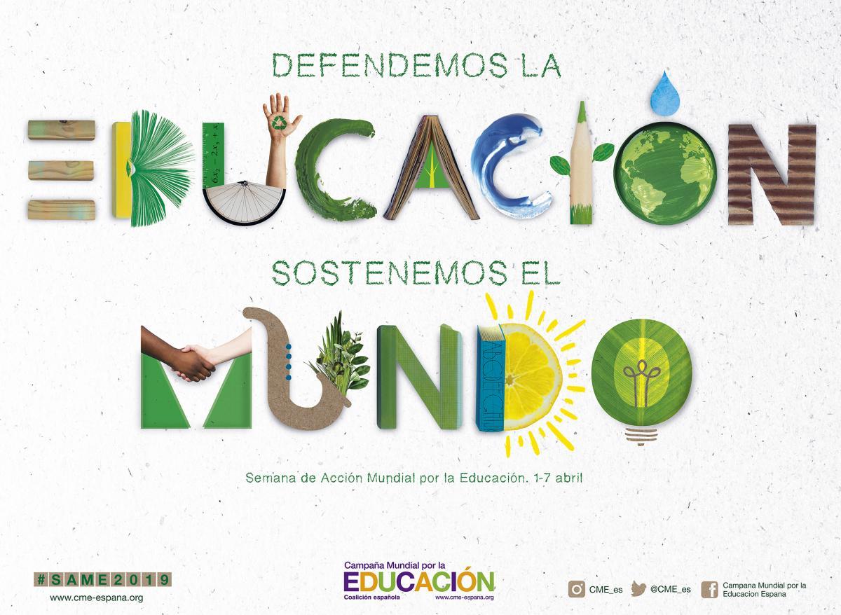 Semana de Acción Mundial por la Educación (SAME) 2019