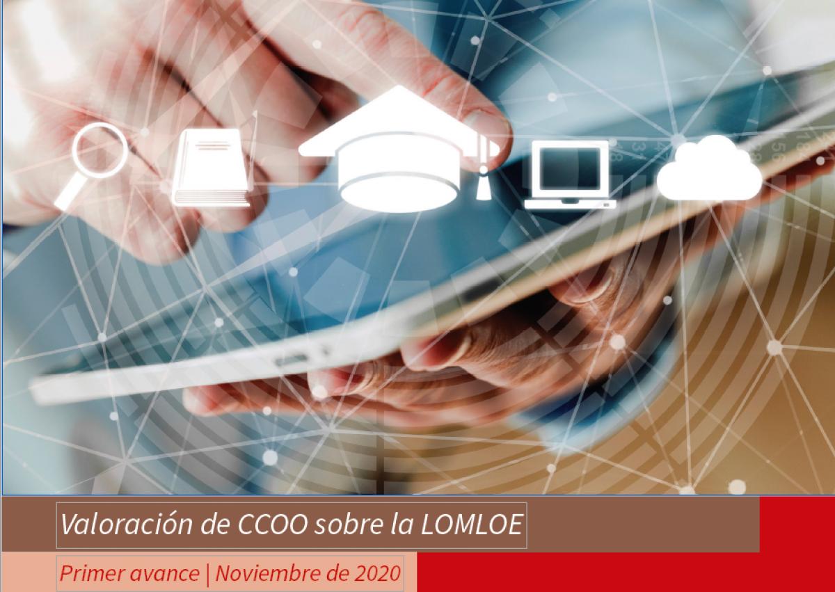 Informe de la Federación de Enseñanza de CCOO sobre la LOMLOE.