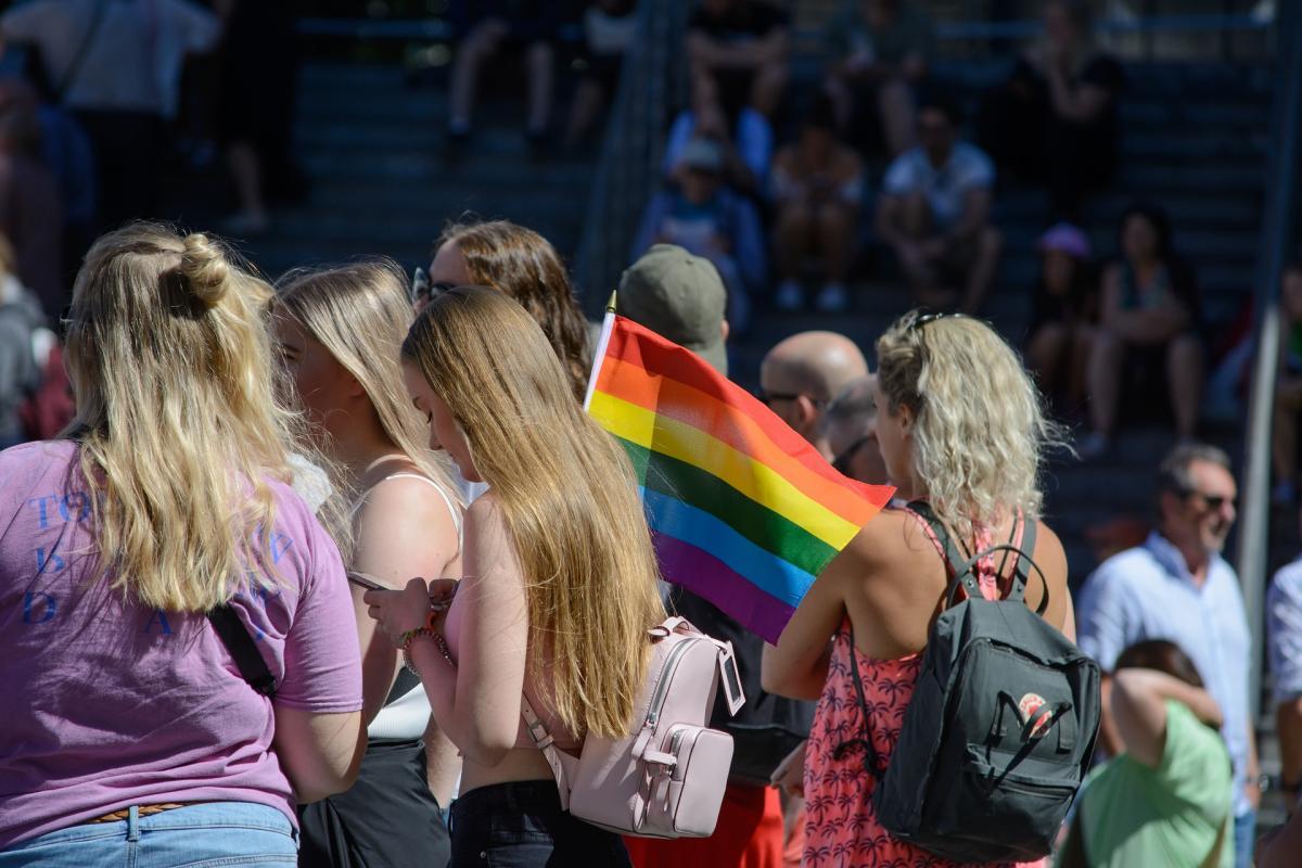 Manifestación por el orgullo LGTBI+ (Pixabay)