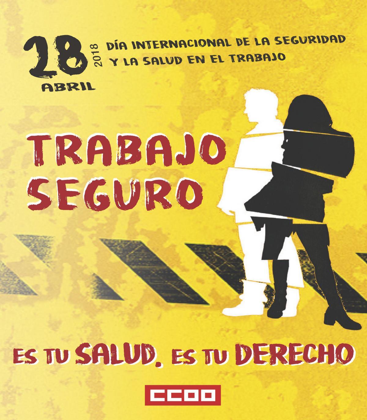 Día Internacional de la Salud y la Seguridad en el Trabajo.