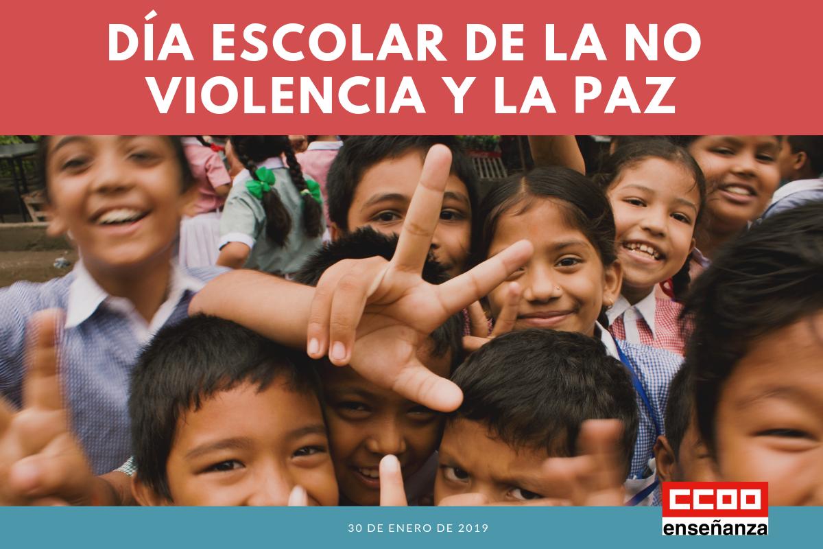 30 de enero, Día Escolar de la No Violencia y la Paz