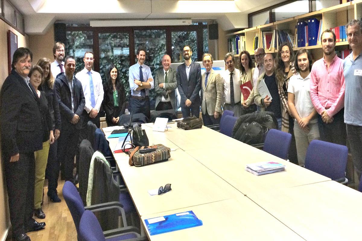 Agentes sociales y representantes de la Comisión Europea