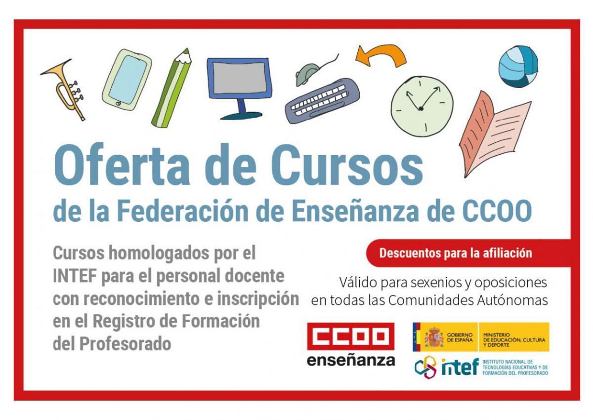 Oferta de cursos de FECCOO.